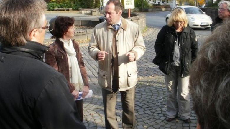 Oliver Wittke sieht die Notwendigkeit für eine Umgehungsstraße in Much