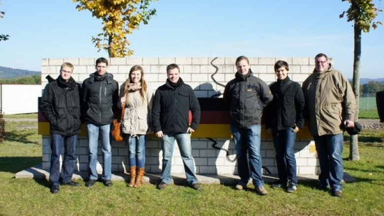 Bildungsfahrt der JU Rhein-Sieg an die innerdeutsche Grenze