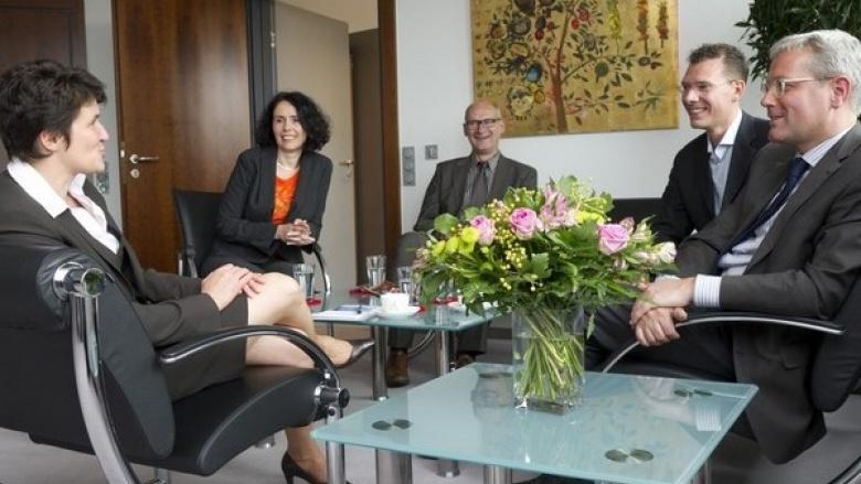 Gönner will den Internationalen Standort Bonn weiter stärken