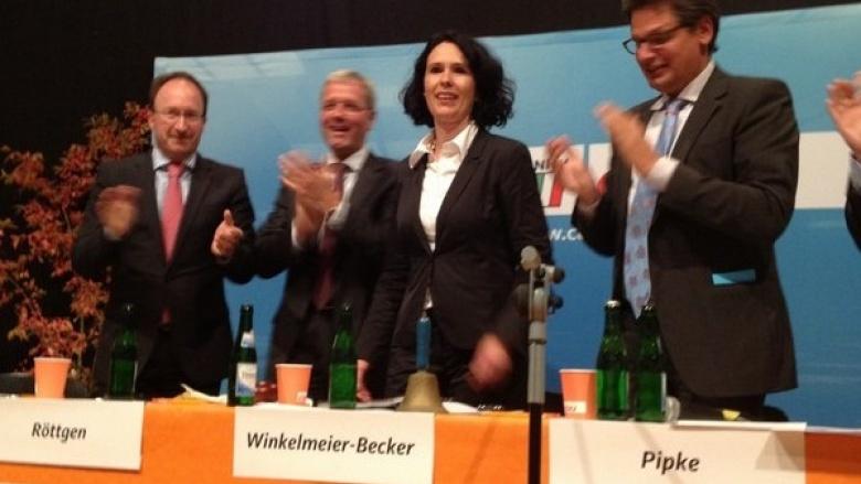 Elisabeth Winkelmeier-Becker wieder CDU-Bundestagskandidatin im rechtsrheinischen Kreisgebiet