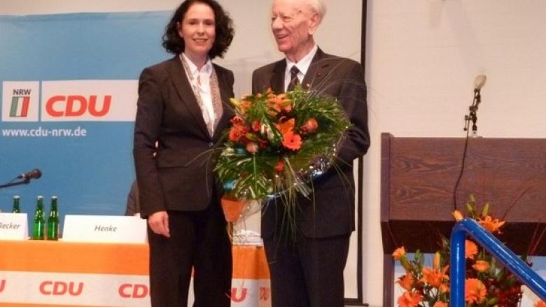 CDU Rhein-Sieg ehrt Dieter Heuel und Heinz-Josef Nüchel mit Verleihung der Konrad-Adenauer-Medaille