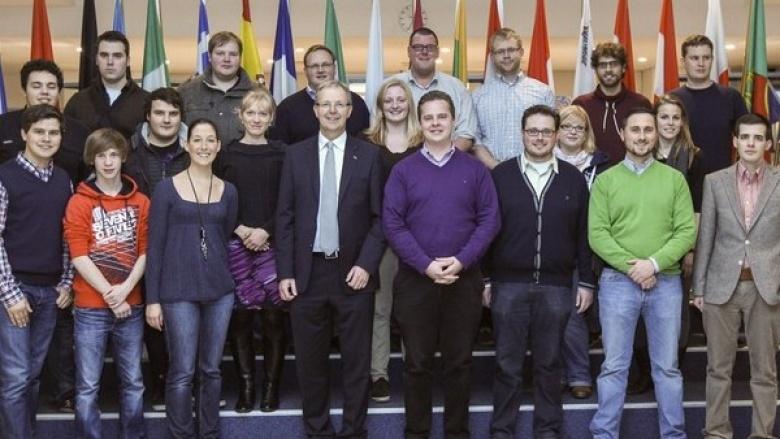 JU Rhein-Sieg besucht Europaabgeordneten Axel Voss in Brüssel