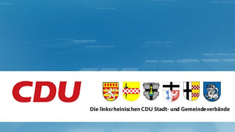 CDU Die linksrheinischen CDU Stadt- und Gemeindeverbände