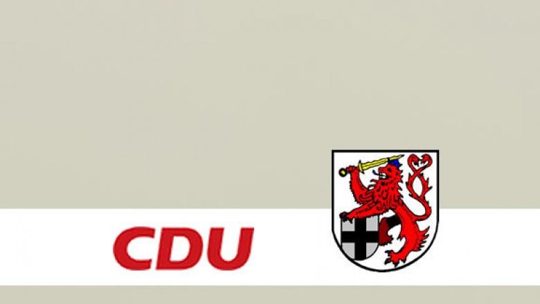 Europawahl 2009: CDU Rhein-Sieg schickt Charlotte Schölgens ins Rennen.