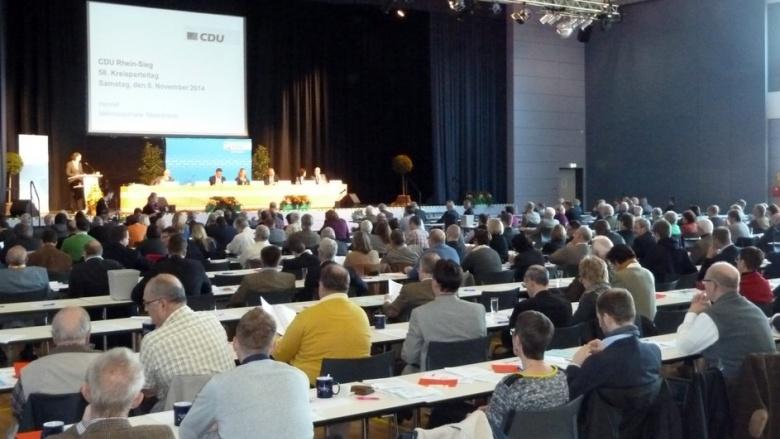 Elisabeth Winkelmeier-Becker mit großer Mehrheit als Vorsitzende der CDU Rhein-Sieg im Amt bestätigt