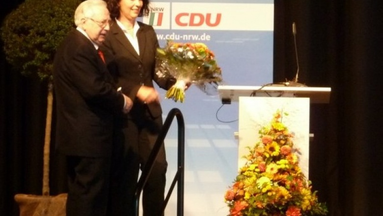 Kreis-CDU verleiht Konrad-Adenauer-Medaille und informiert sich weiter über interkommunale Kooperationsmöglichkeiten
