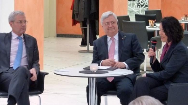 Diskussion mit Klaus Peter Müller - Werte in der Wirtschaft (November 2013)