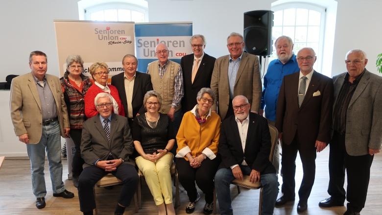 Senioren-Union der CDU Rhein-Sieg wählt neuen Vorstand