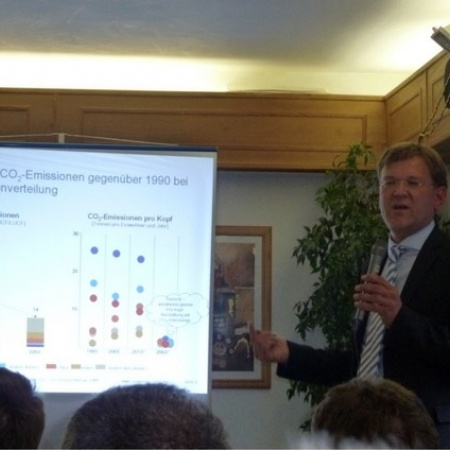 1. Energiepolitische Podiumsdiskussion des AK Wirtschaft (Juli 2011)