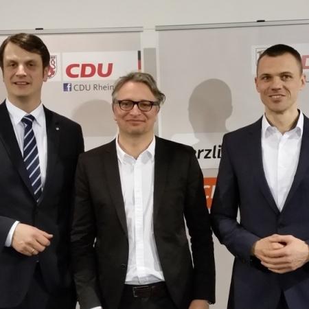 1. Vorstellungsrunde Landtagswahlkreis 25 in Hennef (März 2016)