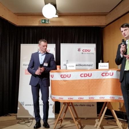 2. Vorstellungsrunde Landtagswahlkreis 25 in Much (März 2016)