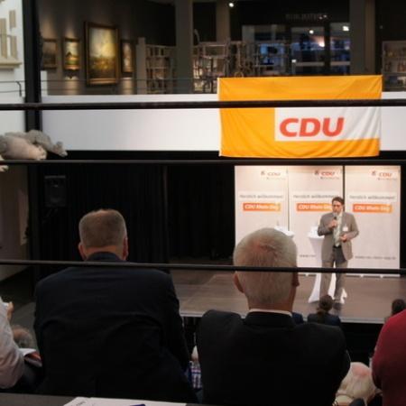 3. Vorstellungsrunde Landtagswahlkreis 28 in Siegburg (Mai 2016)