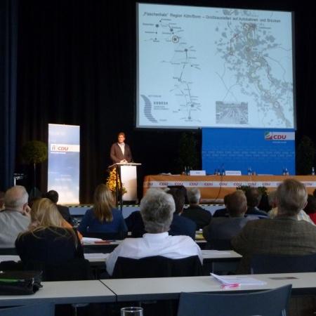 58. Kreisparteitag der CDU Rhein-Sieg in Hennef (November 2014)