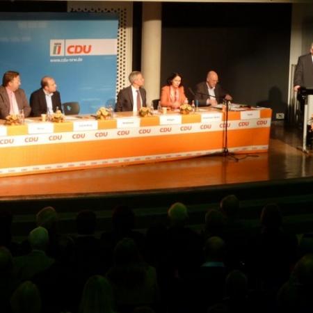 Aufstellung von Dr. Norbert Röttgen als CDU-Bundestags-kandidat (Oktober 2012)