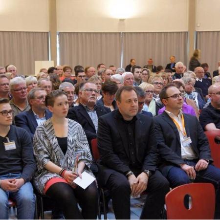 Aufstellungsversammlung im Wahlkreis 25 (April 2016)