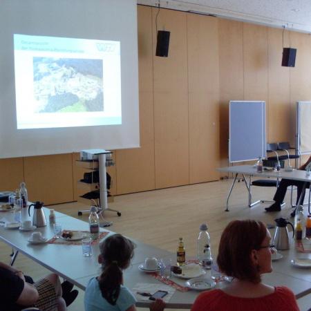 Besuch der Wahnbachtalsperre durch den AK Wirtschaft und Energie (Juli 2014)