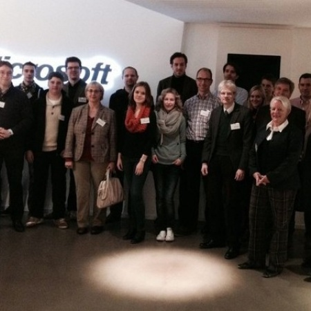 Besuch des Arbeitskreis Wirtschaft bei Microsoft (November 2013)