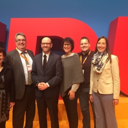CDU Rhein-Sieg auf dem Bundesparteitag (Dezember 2015)