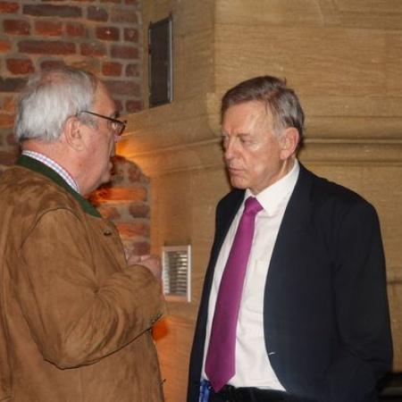 Im Gespräch: Botschafter a.D. Avi Primor in Swisttal (April 2013)