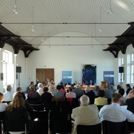 """Kreisparteikonferenz """"Arbeit und Wirtschaft - Zukunft des RSK"""" (September 2012)"""