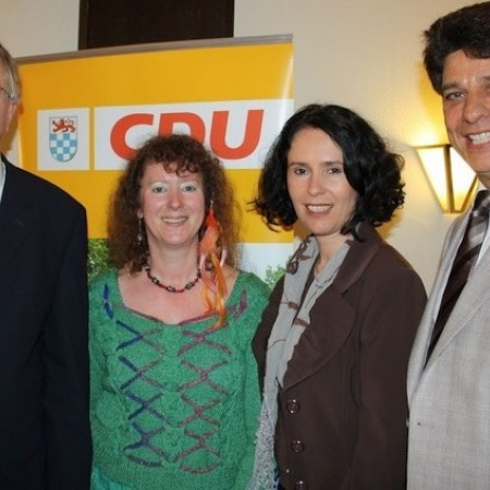 Staatssekretär Peter Hintze MdB zu Besuch in Sankt Augustin (April 2012)