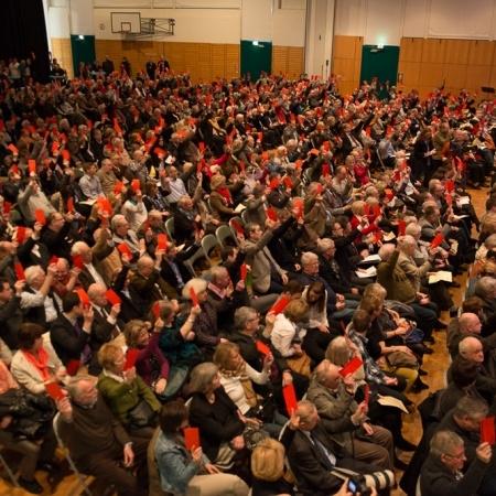 Start Kommunalwahlkampf 2014 (Januar 2014)