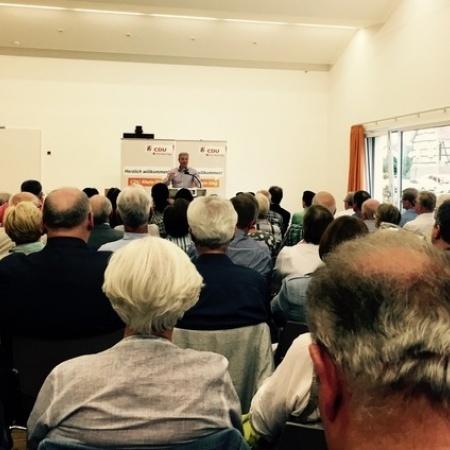 Veranstaltung mit Norbert Röttgen zur Außenpolitik (Juni 2016)