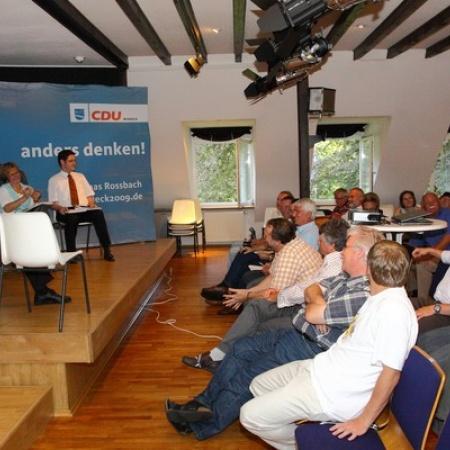 Veranstaltung zur Breitbandversorgung im Kreisgebiet (2009)