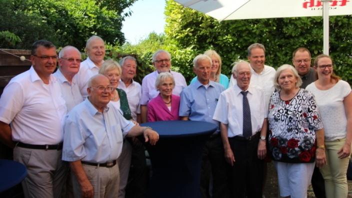 Niederkasseler-CDU ehrte langjährige Mitglieder
